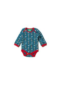 LGR Night Sky Rockets Baby Body - Detail 1