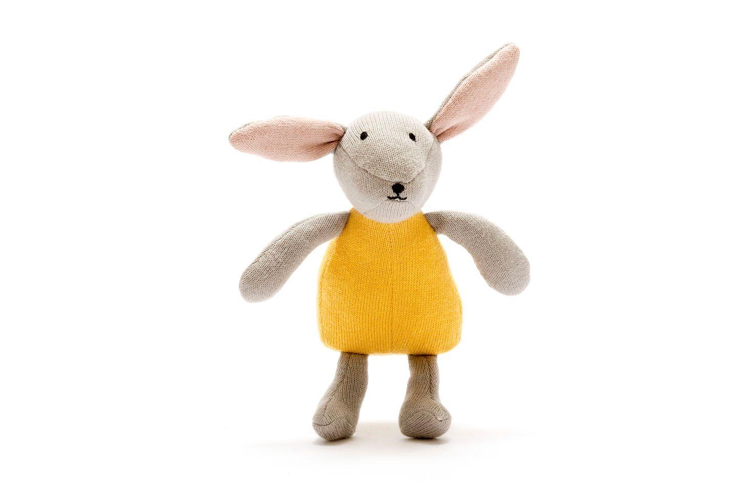 Organic Bunny in Mustard