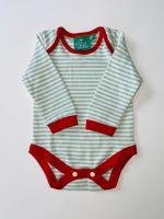 LGR Green Stripe Red trim Baby body