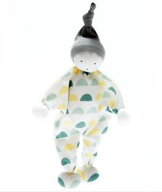 Fair Trade,  Organic Baby Comforter half moons design