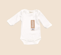 Natural Long Sleeve Baby Body