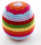 Rainbow Pebble Rattle