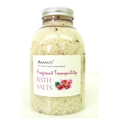 Fragrant tranquility bath salts