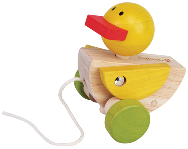 Pull along Duck
