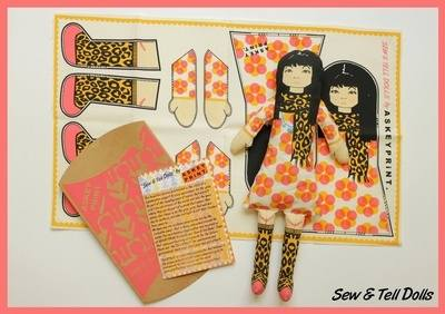 Sew & Tell dolls