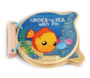 Ocean wooden book
