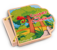 Safari wooden book