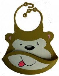 Marvin Monkey Baby Bib