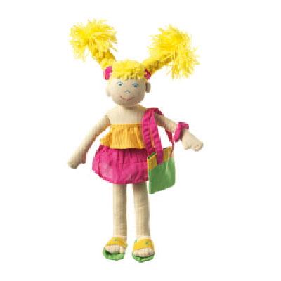 Traidcraft yellow hair doll