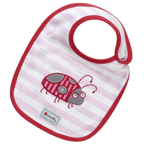 Reversible bib - Lady bug