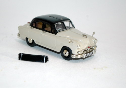 1956 Standard Vanguard Phase II. Black over beige.