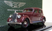 MC 02 1939 P2 4-LIGHT SPORTS SALOON, MAROON. SCALE 1:43.