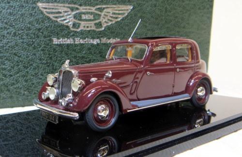 MC.04. 1948 P3 4-light Sports Saloon. Maroon.