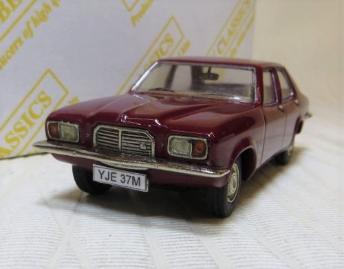 AC 09: 1973-74 VAUXHALL VICTOR FE 2300, RUBY RED. 1:43.