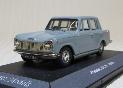 STANDARD (TRIUMPH) GAZEL (4-DOOR HERALD) INDIA. SCALE 1:43. GREY.