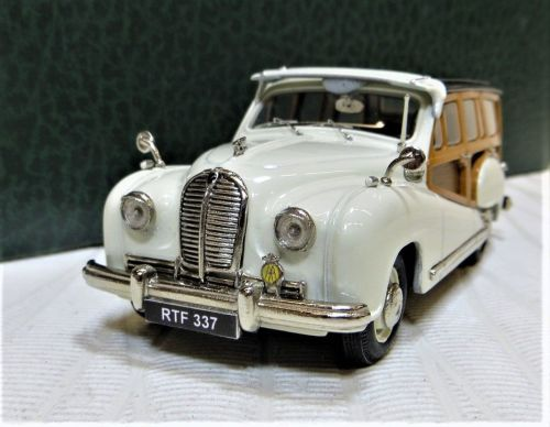 1950-54 AUSTIN A70 HEREFORD WOODY COUNTRYMAN, OLDE ENGLISH WHITE.