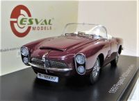 1959 PEGASO OPEN SPIDER BY SERRA MAROON. LTD. ED. 500.