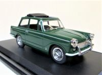TRIUMPH HERALD 12/50 'SKYLIGHT', WIRE WHEELS, OPEN SUNROOF, PINE GREEN.