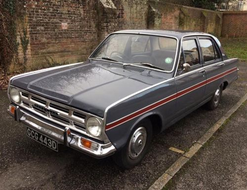 BHM MAJESTY CLASSICS MC 18a. 1964 VAUXHALL VX 4/90. GREY WITH RED INTERIOR.