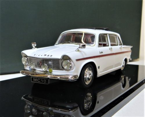 BHM MAJESTY CLASSICS MC 10: 1966 HILLMAN SUPER MINX, MK IV, SIX-LIGHT. PRE-