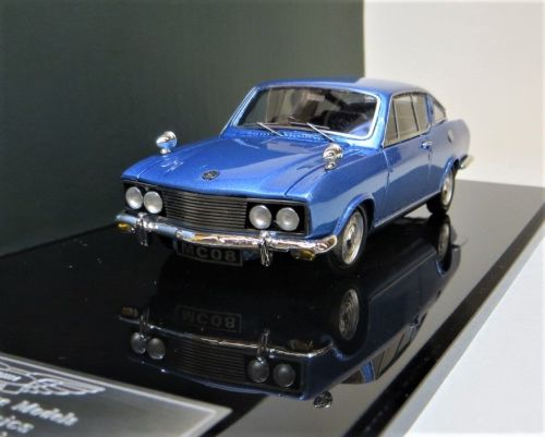 BHM MAJESTY CLASSICS MC 08a: 1969 SUNBEAM ALPINE FASTBACK, METALLIC BLUE. D