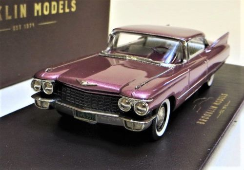 BRK 207: 1960 CADILLAC S62 COUPE, SIENA ROSE METALLIC.