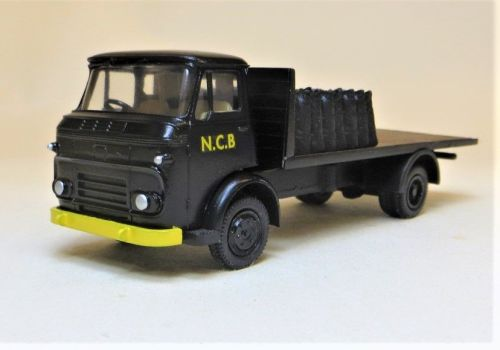 COMMER KARRIER GAMECOCK, NATIONAL COAL BOARD COAL LORRY WITH SACKS.