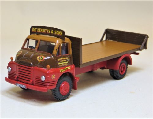BEDFORD S-TYPE FLATBED, RAY HERRIT & SONS LIVERY.
