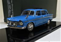 MC 10: 1966 HILLMAN SUPER MINX, MK IV, SIX-LIGHT BLUE. SCALE 1:43..
