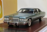1976 CADILLAC FLEETWOOD BROUGHAM, METALLIC GREEN LTD: 150