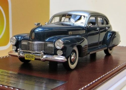 1941 CADILLAC SERIES 63 TOURING SEDAN, TWO-TONE BLUE. LTD: 150.