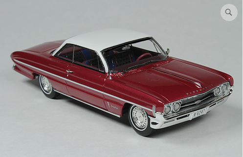 GC 020A: 1961 OLDSMOBILE 98, RED. BOUND TO SELL OUT - PRE-ORDER NOW!