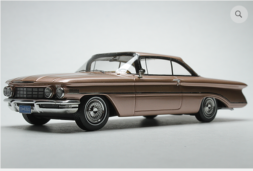 GC 021A: 1960 OLDSMOBILE, COPPER MIST POLY. BOUND TO SELL OUT - PRE-ORDER N