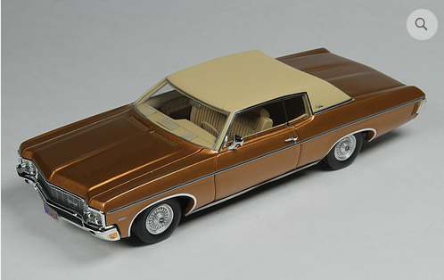 GC 029A: 1970 CHEVROLET CUSTOM COUPE, CARAMEL BRONZE.BOUND TO SELL OUT - PR