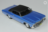 GC 029B: 1970 CHEVROLET CUSTOM COUPE, MULSANNE BLUE. BOUND TO SELL OUT - PRE-ORDER NOW!