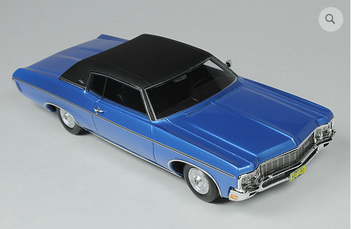 GC 029B: 1970 CHEVROLET CUSTOM COUPE, MULSANNE BLUE. BOUND TO SELL OUT - PR