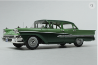 GC 026B: 1958 FORD CUSTOM 300 4-DOOR, SEASPRAY GREEN/SILVERTONE GREEN.  BOUND TO SELL OUT - PRE-ORDER NOW!