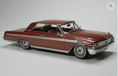GC 030B: 1962 FORD GALAXIE, CHESTNUT POLY.  BOUND TO SELL OUT - PRE-ORDER N