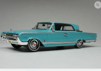 GC 024B: 1964 MERCURY PARK LANE, PEACOCK . BOUND TO SELL OUT - PRE-ORDER NOW!