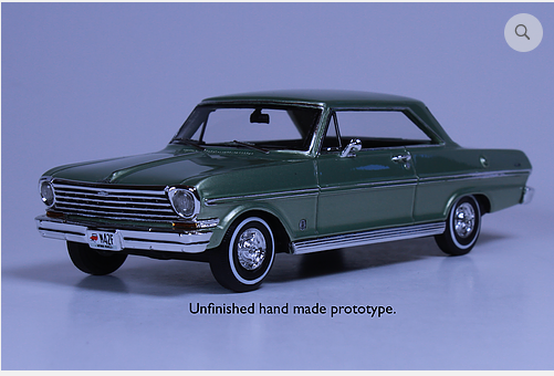 GC 018A: 1963 CHEVROLET NOVA, LAUREL GREEN. BOUND TO SELL OUT - PRE-ORDER N
