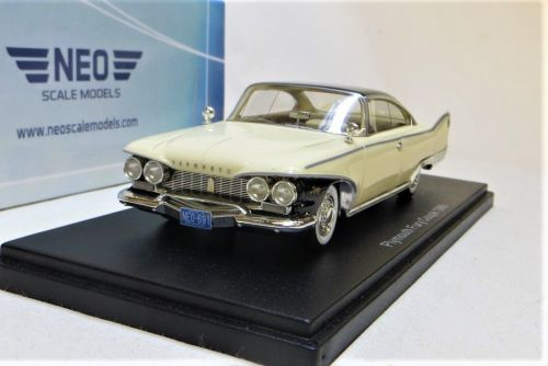 PLYMOUTH FURY COUPE. SCALE: 1 43.