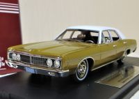 GC 07B: 1970 FORD GALAXIE, WHITE OVER CARAMEL BRONZE. LTD: 190.