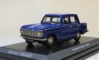 STANDARD (TRIUMPH) GAZEL (4-DOOR HERALD) INDIA. SCALE 1:43. ROYAL BLUE.