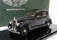 MC 02 1939 P2 4-LIGHT, SPORTS SALOON, BLACK  WITH A BROWN INTERIOR. SCALE 1:43.