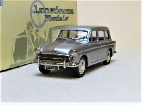 LDM 88 1957 HILLMAN MINX ESTATE, SERIES 1. LIGHT GUNMETAL.