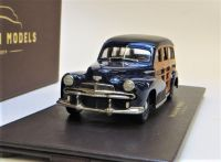 BML25 1942 OLDSMOBILE B44 WOODY S/WAGON, BLUE.