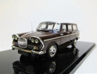 MC 06a. 1966 SINGER VOGUE ESTATE, WHITE OVER MAROON.  SCALE 1:43.