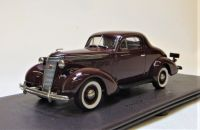 BML 06 1937 STUDEBAKER DICTATOR COUPE, MAROON.