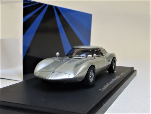 AVENUE 43: 1983 CHEVROLET CORVAIR MONZA GT, SILVER. SCALE 1:43.