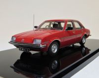 EXC 1a: 1980 VAUXHALL CAVALIER MK 1 1600GL, RED WITH A BLACK INTERIOR.